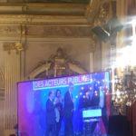L'AMRF quitte la scène après la remise du prix